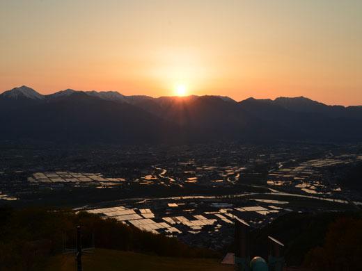 長峰山展望台